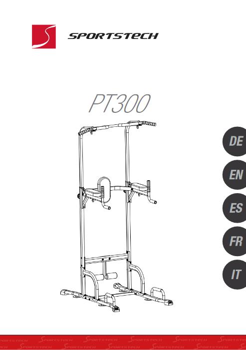 Manuel d'utilisation du chaise romaine Sportstech PT300 (FR)